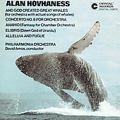 Hovhaness: And God Created Great Whales, etc / David Amos
