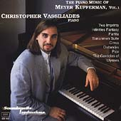 Piano Music of Meyer Kupferman Vol 1 / Christopher Vassiliades