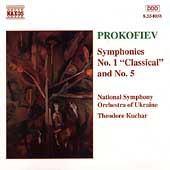 Prokofiev: Symphonies no 1 and 5 / Kuchar, Ukrainian SO