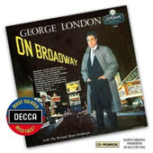 George London On Broadway - Songs from Oklahoma!, South Pacific, Carousel, Paint Your Wagon, Brigadoon, On the Street where You Live