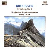 Bruckner: Symphony no 6 / Tintner, New Zealand Symphony