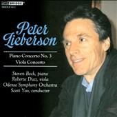 Peter Lieberson, Vol. 3: Piano Concerto No. 3; Viola Concerto / Steven Beck, piano; Robert Diaz, viola. Odense SO