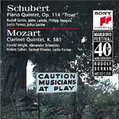 Marlboro Fest 40th Anniversary- Schubert, Mozart: Quintets