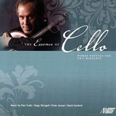 The Essence of Cello - Music of Paul Suits, Hugo Weisgall, Peter Susser & David Sanford / Eric Bartlett, cello