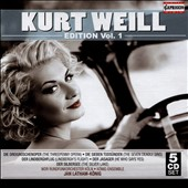 Kurt Weill Edition, Vol. 1: The Threepenny Opera; The 7 Deadly Sins; The Silver Lake et al. / WDR Radio SO Cologne; Latham-König [5 CD]