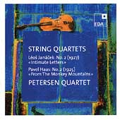 Janácek, Haas: String Quartets / Petersen Quartet