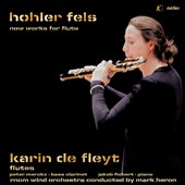 Works for Flute by Paul Goodey (b.1965), Christopher Fox (b.1955), Rolf Gehlhaar (b.1943) / Karin de Fleyt, flute; Peter Merckx, bass clarinet; Jakob Fichert, piano; RNCM WO, Mark Heron