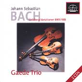 J.S. Bach: The Goldberg Variations, BWV 988 / Gaede Trio
