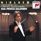 Nielsen: Symphonies no 3 & 6 / Salonen, Swedish RSO