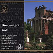 Verdi: Simon Boccanegra / Abbado, Cappuccilli, Freni, et al