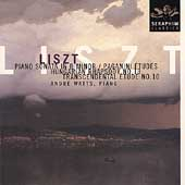 Liszt: Sonata in B Minor, Paganini Etudes, etc / André Watts
