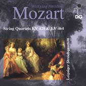 Mozart: String Quartets KV 428 & 464 / Leipzig Quartet