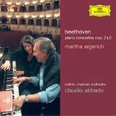 Beethoven: Piano Concertos no 2 & 3 / Argerich, et al
