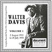 Walter Davis: Complete Works in Chronological Order, Vol. 1 (1933-35)