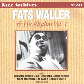 Fats Waller: Fats Waller & His Rhythm, Vol. 1: 1934-1936