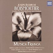 Boismortier: Sonatas for Two Bassoons / Musica Franca