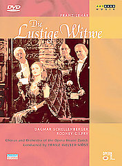 Lehar: Die Lustige Witwe - The Merry Widow / Chorus And Orchestra Of The Zurich Opera House [DVD]