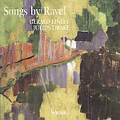 Ravel: Songs / Finley, Drake