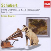Schubert: String Quartets 10 & 33 'Rosamunde'; Quartettsatz