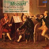Mozart: The Last Four String Quartets Vol 2 / Chilingirian