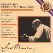 Stravinsky conducts Stravinsky - Symphony of Psalms, etc