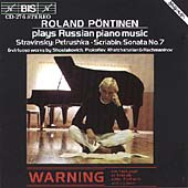 Russian Piano Music / Roland P&#246;ntinen