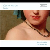 Joseph Haydn: Lieder / Soprano Anne Cambier
