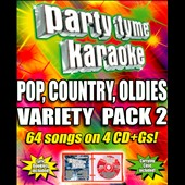 Karaoke: Party Tyme Karaoke: Pop, Country, Oldies Variety Pack 2