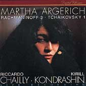 Rachmaninov, Tchaikovsky: Piano Concertos / Martha Argerich
