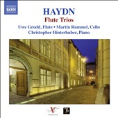 Haydn: Flute Trios / Uwe Grodd, flute; Martin Rummel, cello; Christopher Hinterhuber, piano