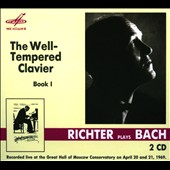 J.S. Bach: The Well-Tempered Clavier, Book 1 / Sviatoslav Richter (1969)