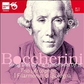 Boccherini: Six String Trios, Op. 1; Sinfonias, Op. 35; Trio Arcophon