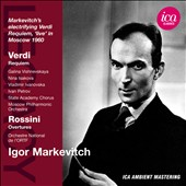 Verdi: Requiem / Vishnevskaya, Isakova, Ivanovska, Petrov - Igor Markevitch (Live, Moscow 1960)