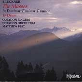Bruckner: The Masses, Te Deum, etc / Best, Corydon Singers