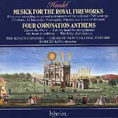 Handel: Royal Fireworks, Coronation Anthems / King's Consort