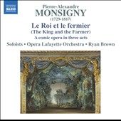 Pierre-Alexandre Monsigny (1729-1817): Le Roi et le Fermier (The King and the Farmer), comic opera / Allen, Sharp, Labelle, Dolié, Thompson, Ziegler