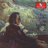 Mendelssohn: Songs without Words / Barbara Meister