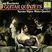 Boccherini: Guitar Quintets 4, 7 & 9 / Yepes, Melos Quartet