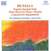 De Falla: Popular Spanish Suite, etc / Schirmer Ensemble