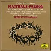 Bach: St Matthew Passion / Karajan, Janowitz, Ludwig  et al