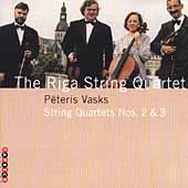 Vasks: String Quartets no 2 & 3 / Riga String Quartet