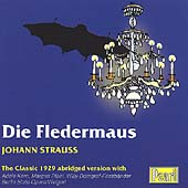 Strauss: Die Fledermaus (Abridged) / Kern, Weigert, et al