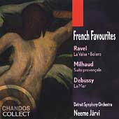 French Favourites - Ravel, Milhaud, Debussy / Järvi, Detroit