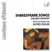 Shakespeare Songs / Alfred Deller, Desmond Dupr&eacute;, et al