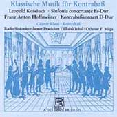 Klassiche Musik f&#252;r Kontrabass / Klaus, Inbal, Maga, et al