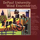 Dahl: Sinfonietta;  Badings, et al / DePaul Wind Ensemble
