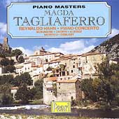 Piano Masters - Magda Tagliaferro - Hahn, Schumann, et al