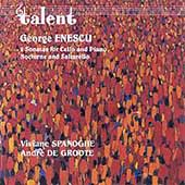 Enescu: Works for Cello and Piano / Spanoghe, A. De Groote