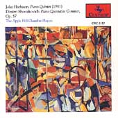 Harbison, Shostakovich: Piano Quintets / Apple Hill Players