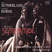 Rossini: Semiramide / Bonynge, Sutherland, Horne, et al